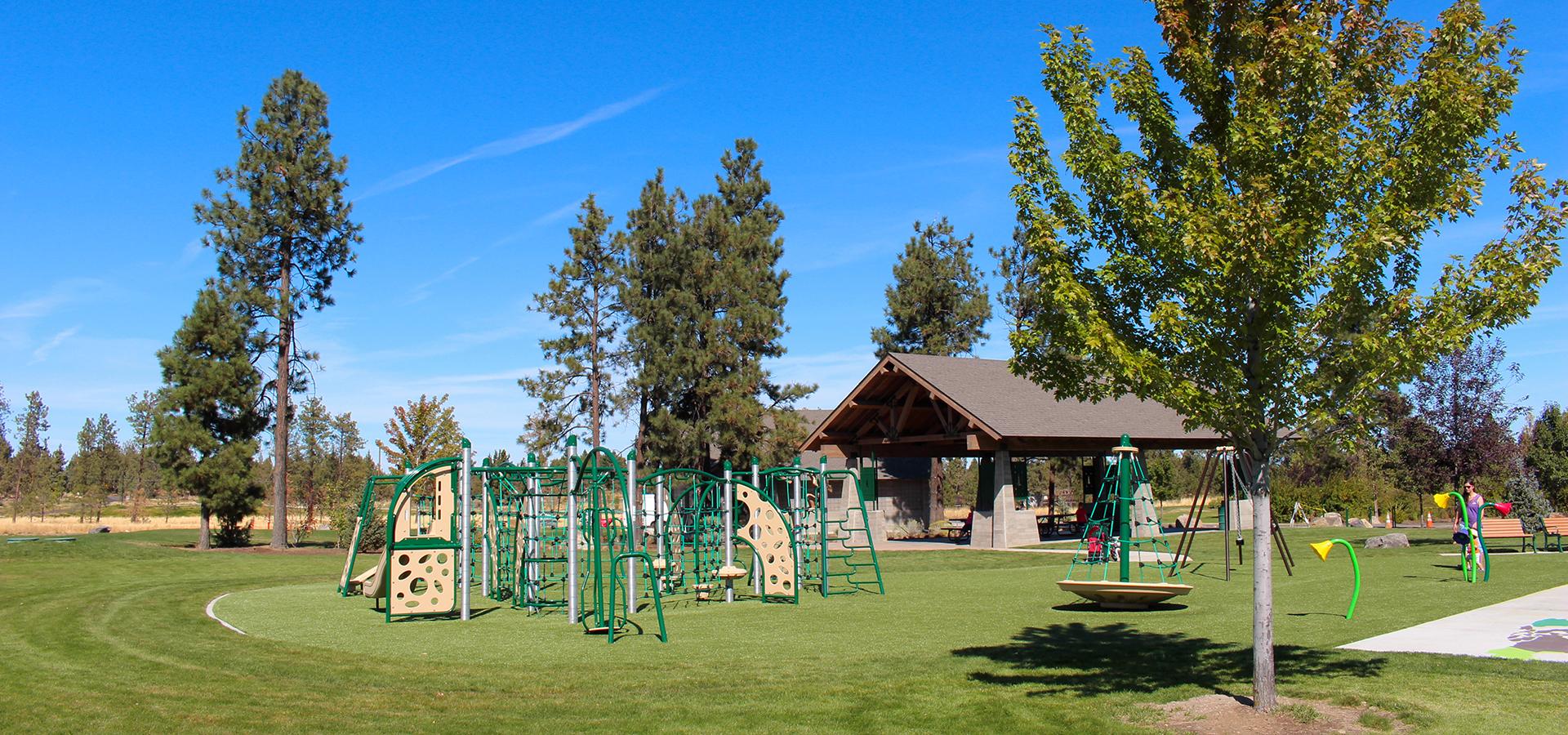 Pine Nursery Park Picnic Shelter Bend