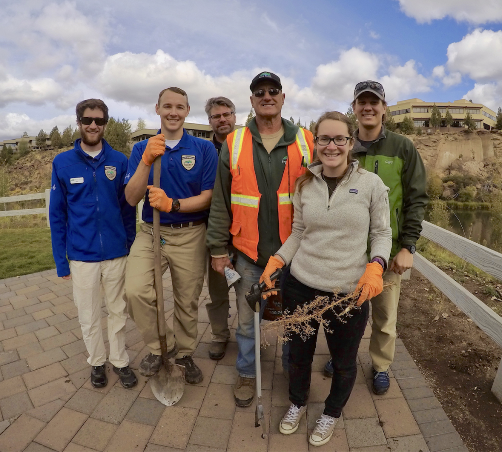 BPRD Employee River Clean Up