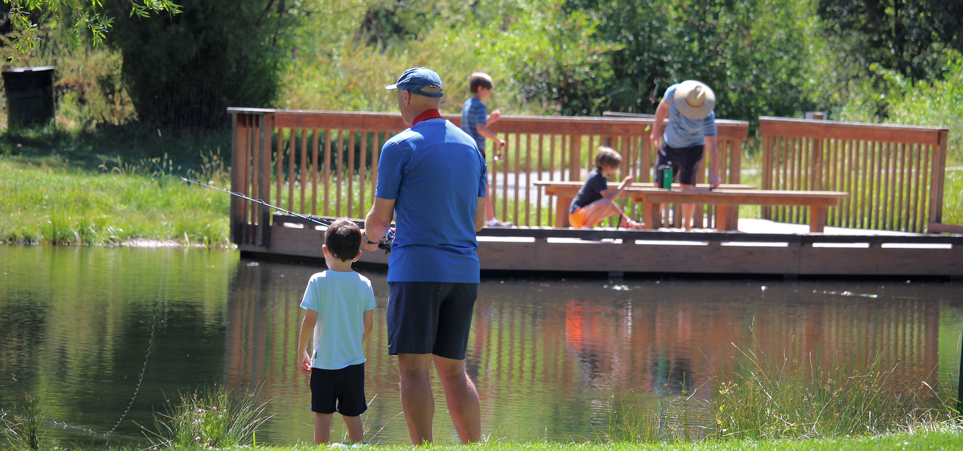 Shevlin-Park-Fishing-in-Bend