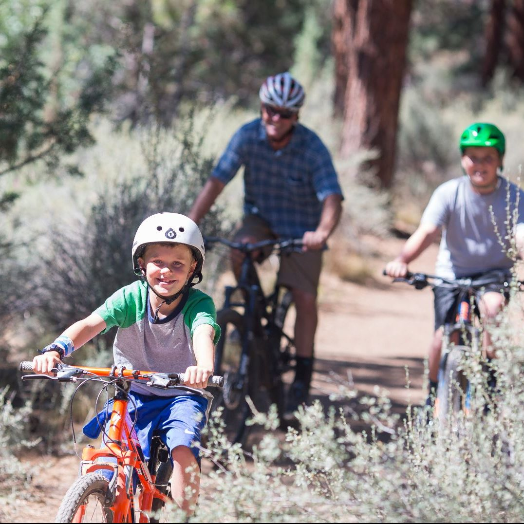 Shevlin Park and Trail Bike Ride