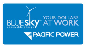 Pacific Power Blue Sky Renewable Energy logo