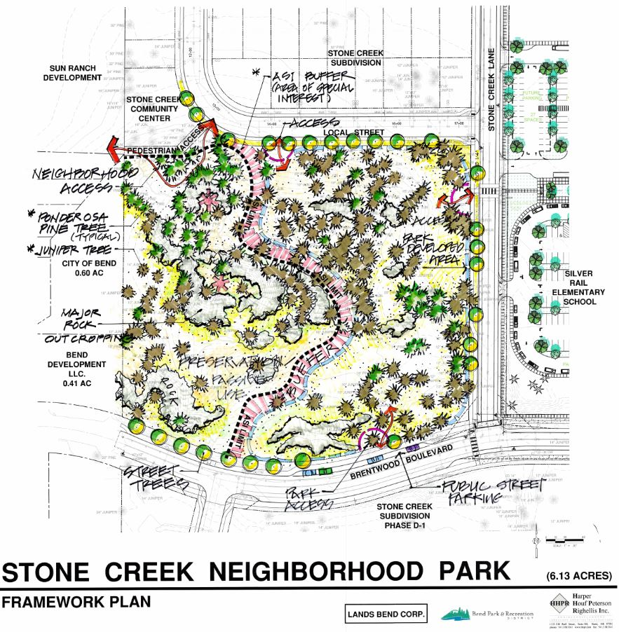 stone creek bend parks and recreation district