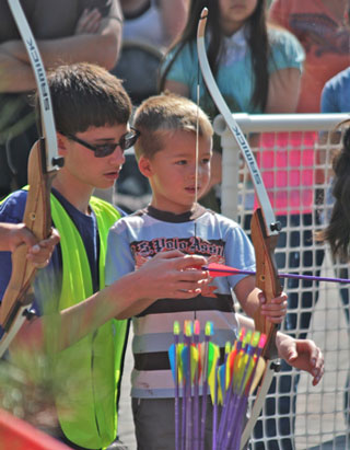 volunteer at Day of Play