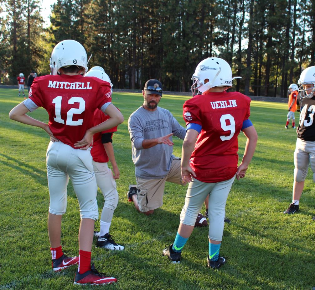 BPRD Youth Boys Football Volunteer Coach
