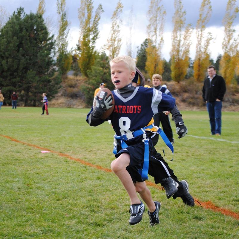 youth boys flag football