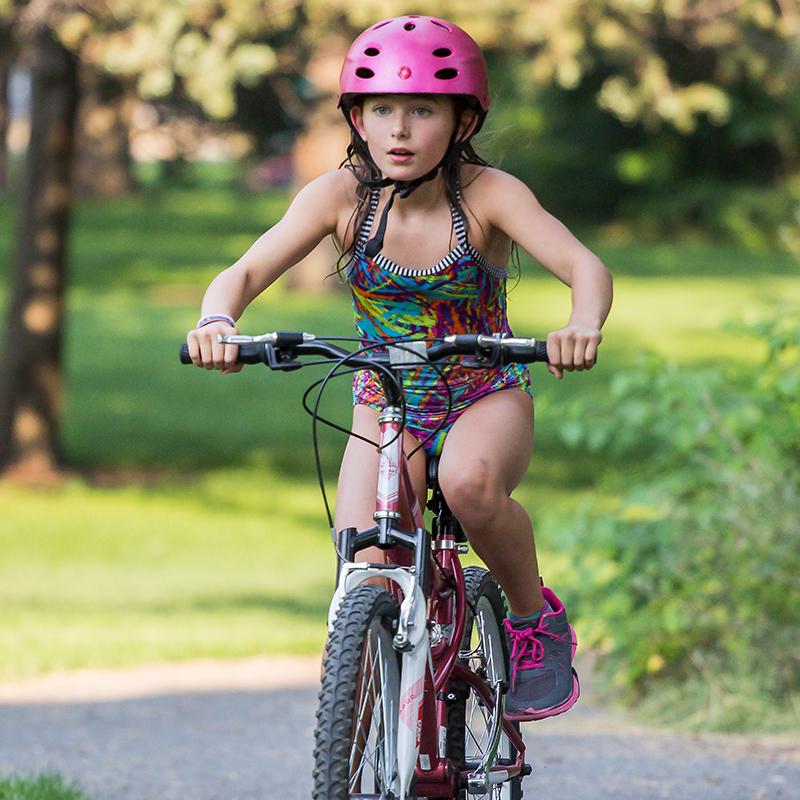 KidsTri-GirlBiking