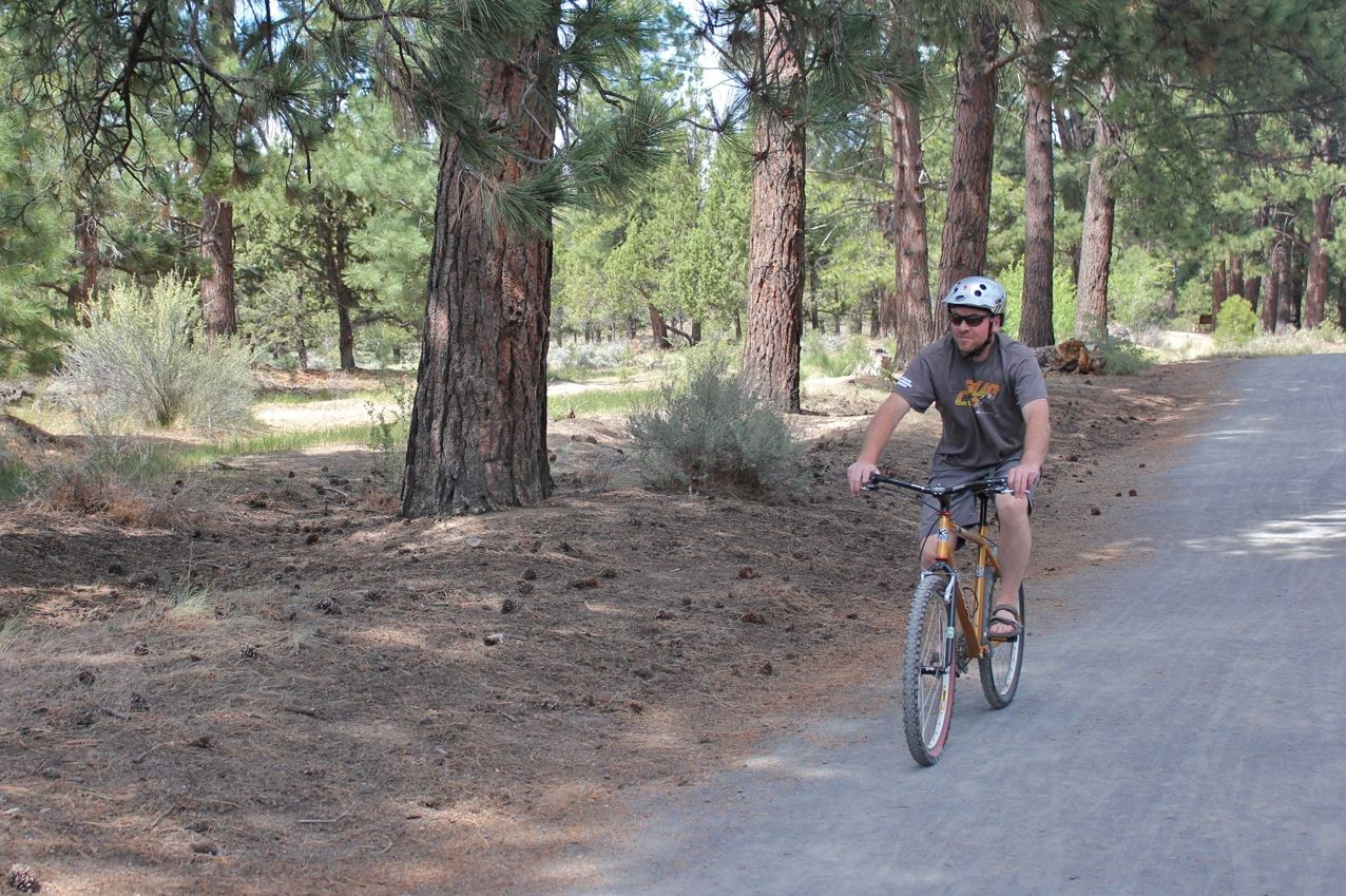 Larkspur Soft-Surface Trail for Walking and Biking in Bend