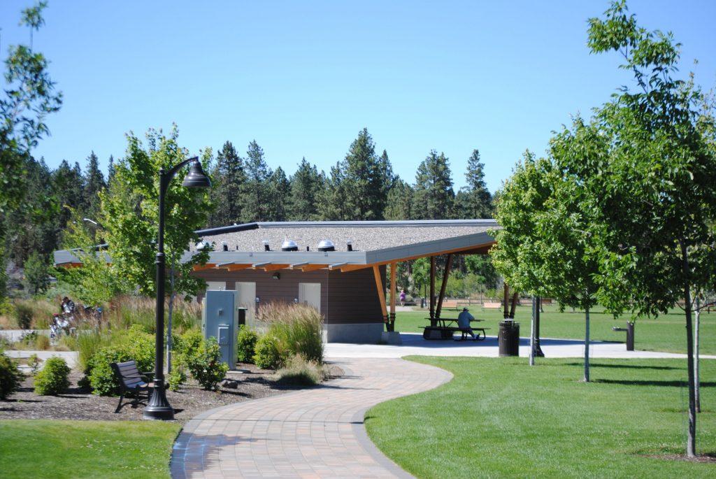 Riverbend Park Picnic Shelter Bend Park And Recreation District