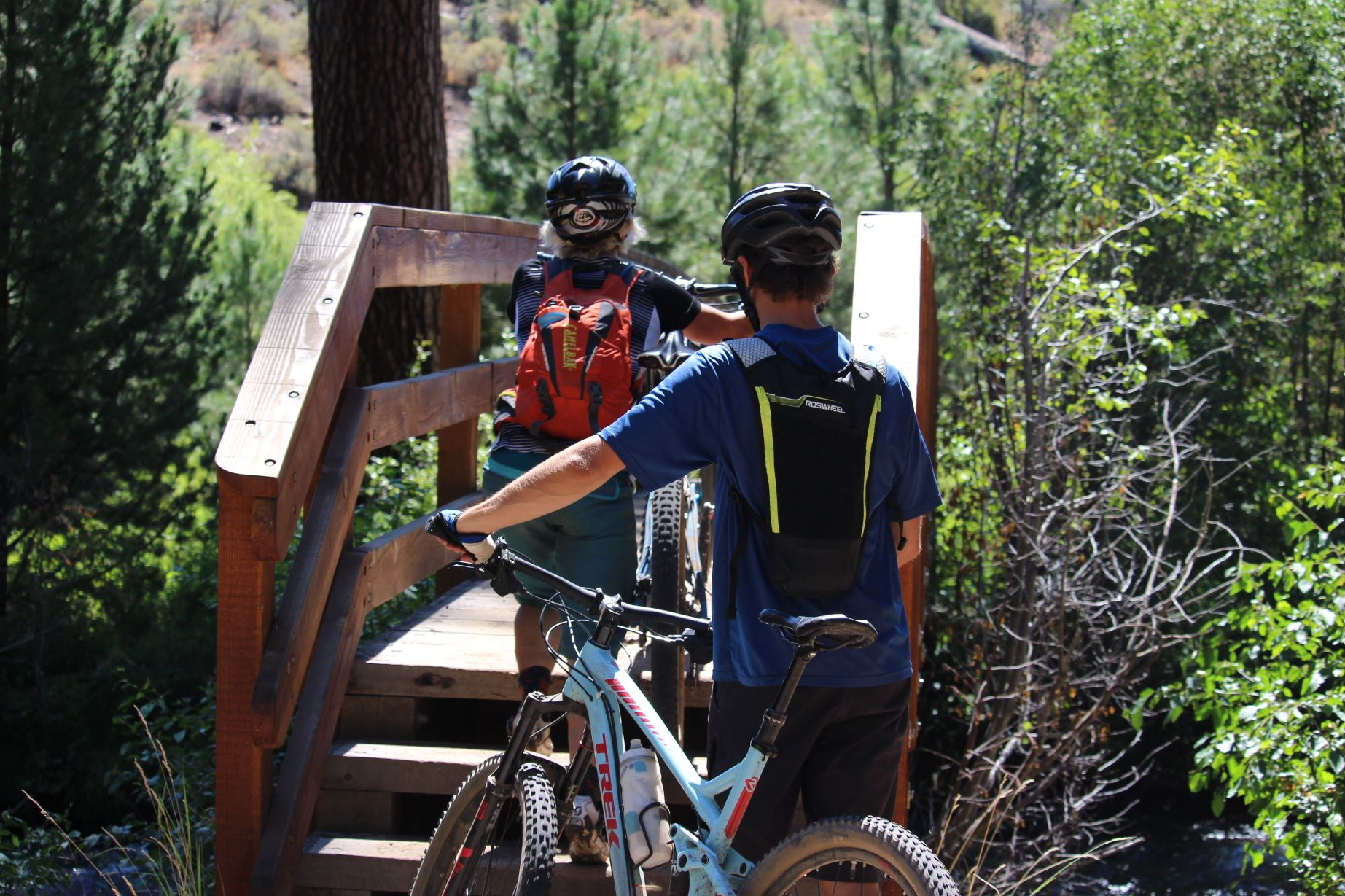 Shevlin Park Trail Bike Riding