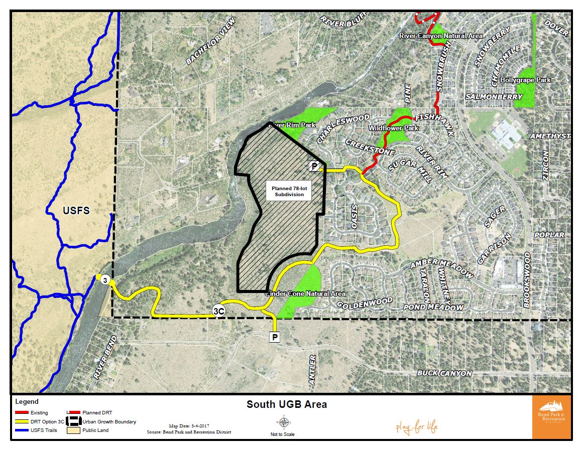 South UGB Area Map