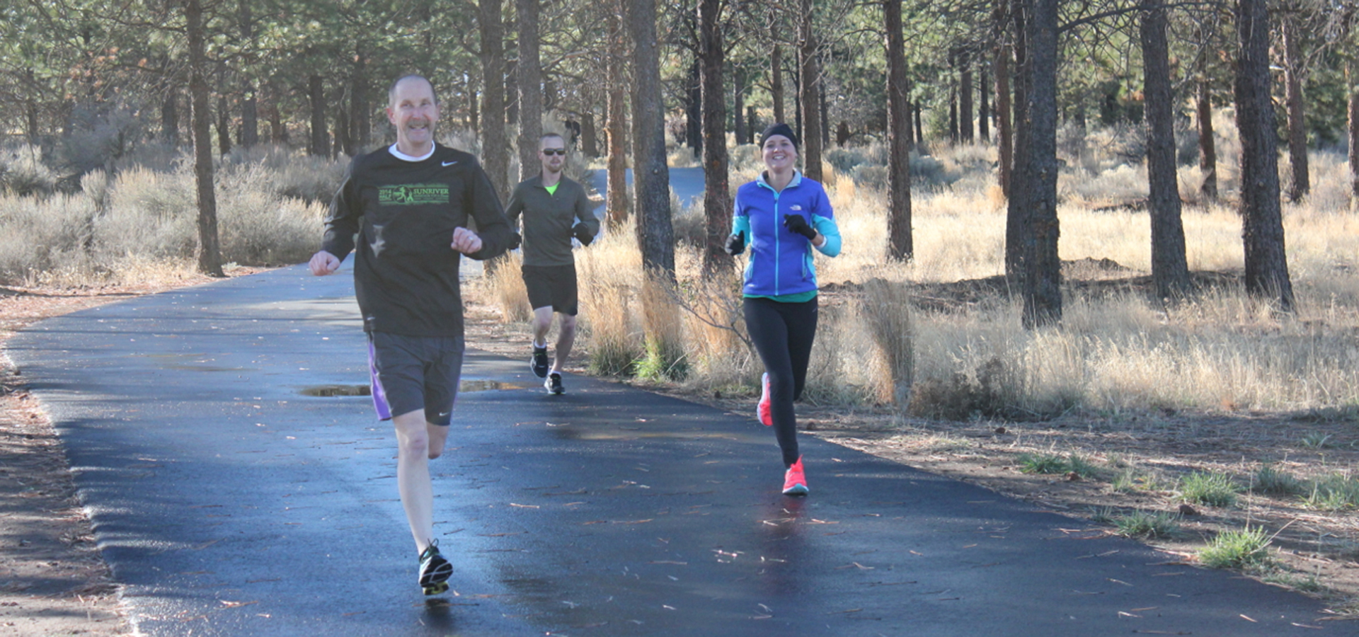 Pine Nursery Trail with runners