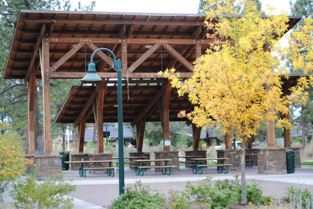 Compass park picnic shelter bend park and recreation - North bend swimming pool schedule ...