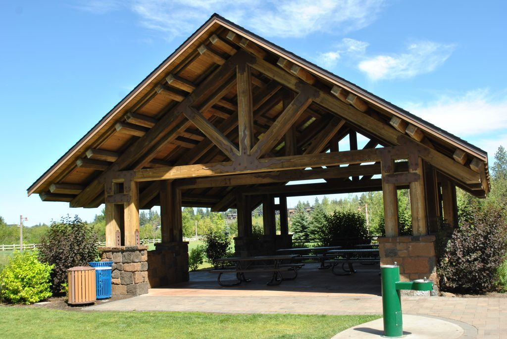 Farewell bend park picnic shelter bend park and - North bend swimming pool schedule ...