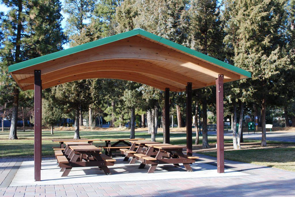 Larkspur Park Picnic Shelter Bend Park And Recreation District