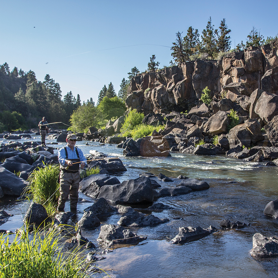 Fishing in Bend Parks - Bend Parks and Recreation District