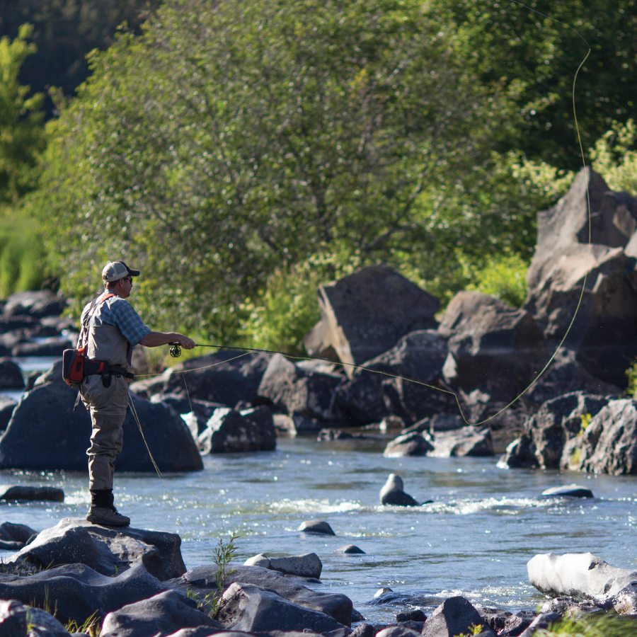 Fishing In Bend Parks Bend Parks And Recreation District