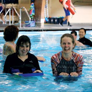 Image of a Therapeutic Recreation Swim Program at Juniper Swim and Fitness Center.