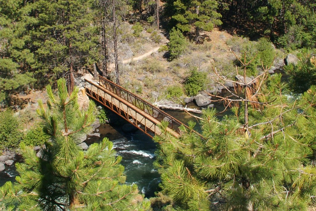 deschutes river trail - south canyon reach