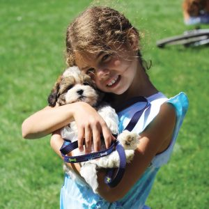 Image from July 4th Pet Parade and Festival in Drake Park in downtown Bend, Oregon.