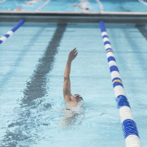 Image of a swimmer in the Masters Swim Program in Bend, Oregon.