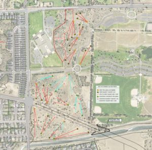 Map of the City of Bend's Empire Roundabout Improvements