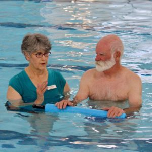 Image of an Individualized Therapeutic Water Fitness Class in Bend Oregon.