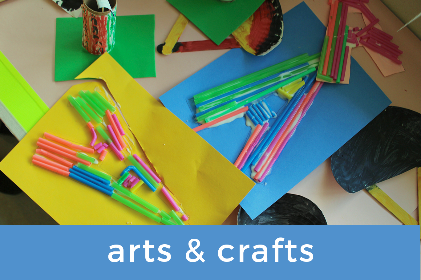 Arts and Crafts Resources Button