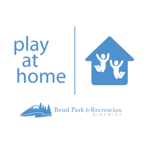 Play at Home Logo and Bend Park and Recreation District logo