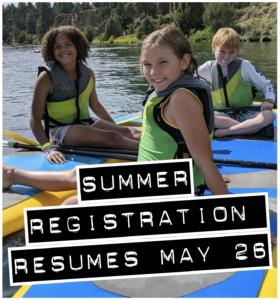 Summer registration resumes May 26