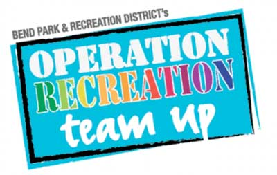 Operation Recreation Team Up logo