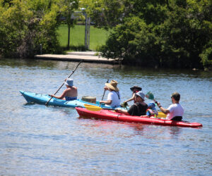 Kayakers on Mirror Pond - 2019