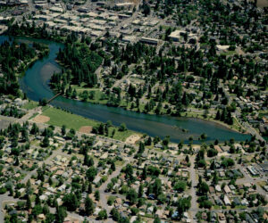 Aerial photo of Drake Park - early 2000's