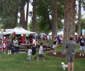 July 4th vendors in Drake Park - 2008
