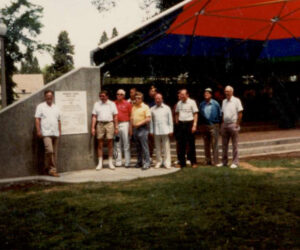 Rotary Club at Drake Park stage - 1983