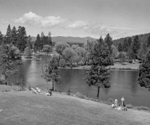 Summer in Drake Park - 1950's