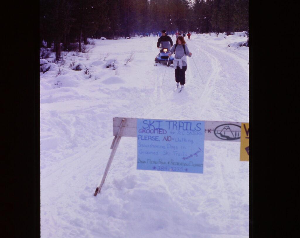 xc skiing in Shevlin Park