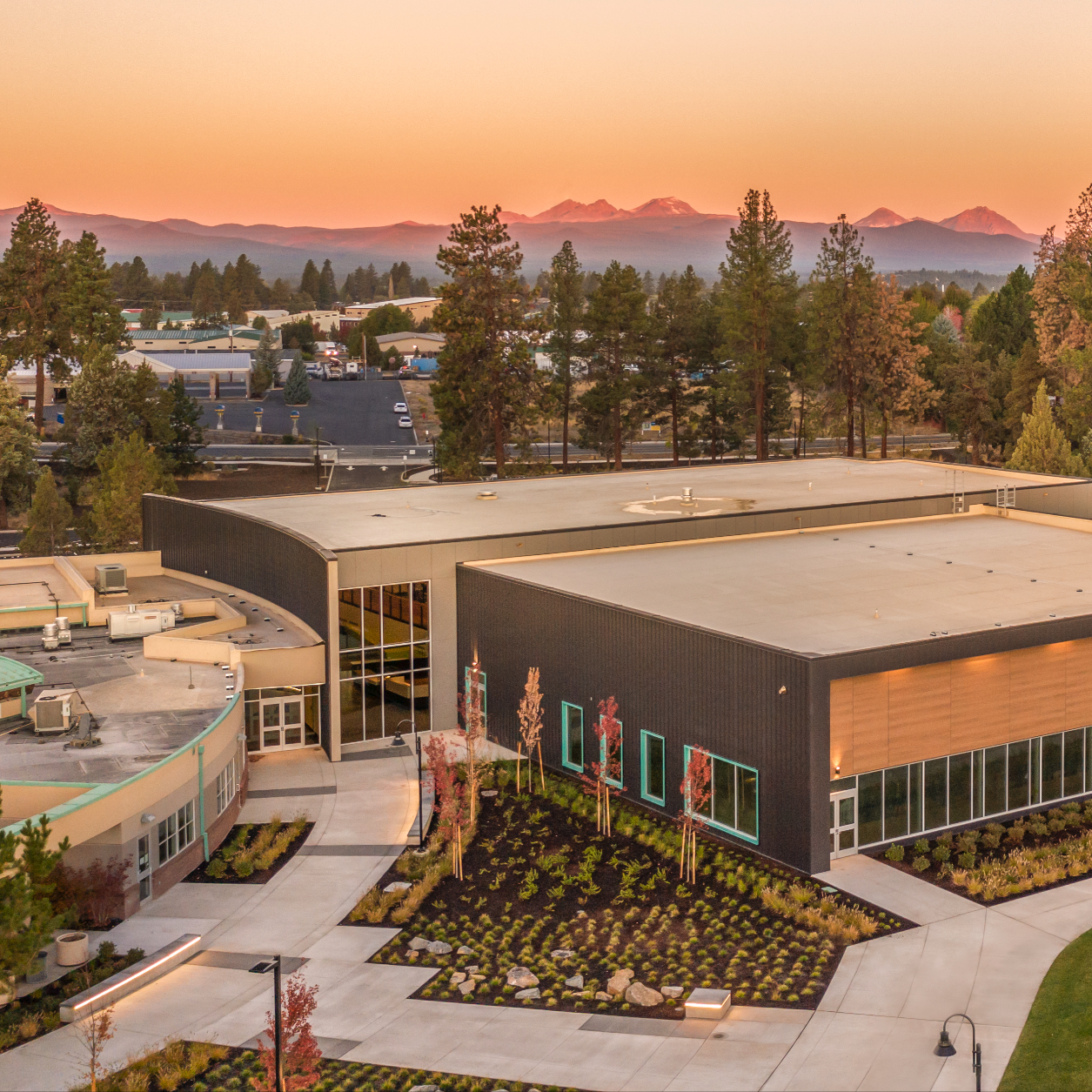 image of Larkspur Community Center from the air