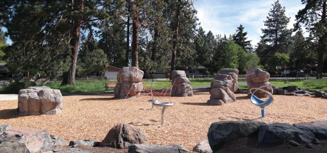 Image of Goodrich Park exploratory play area.