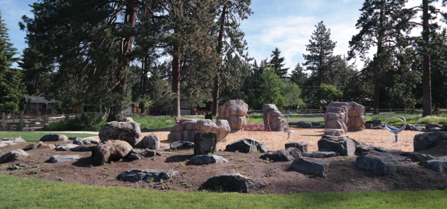 Image of Goodrich Park play area.